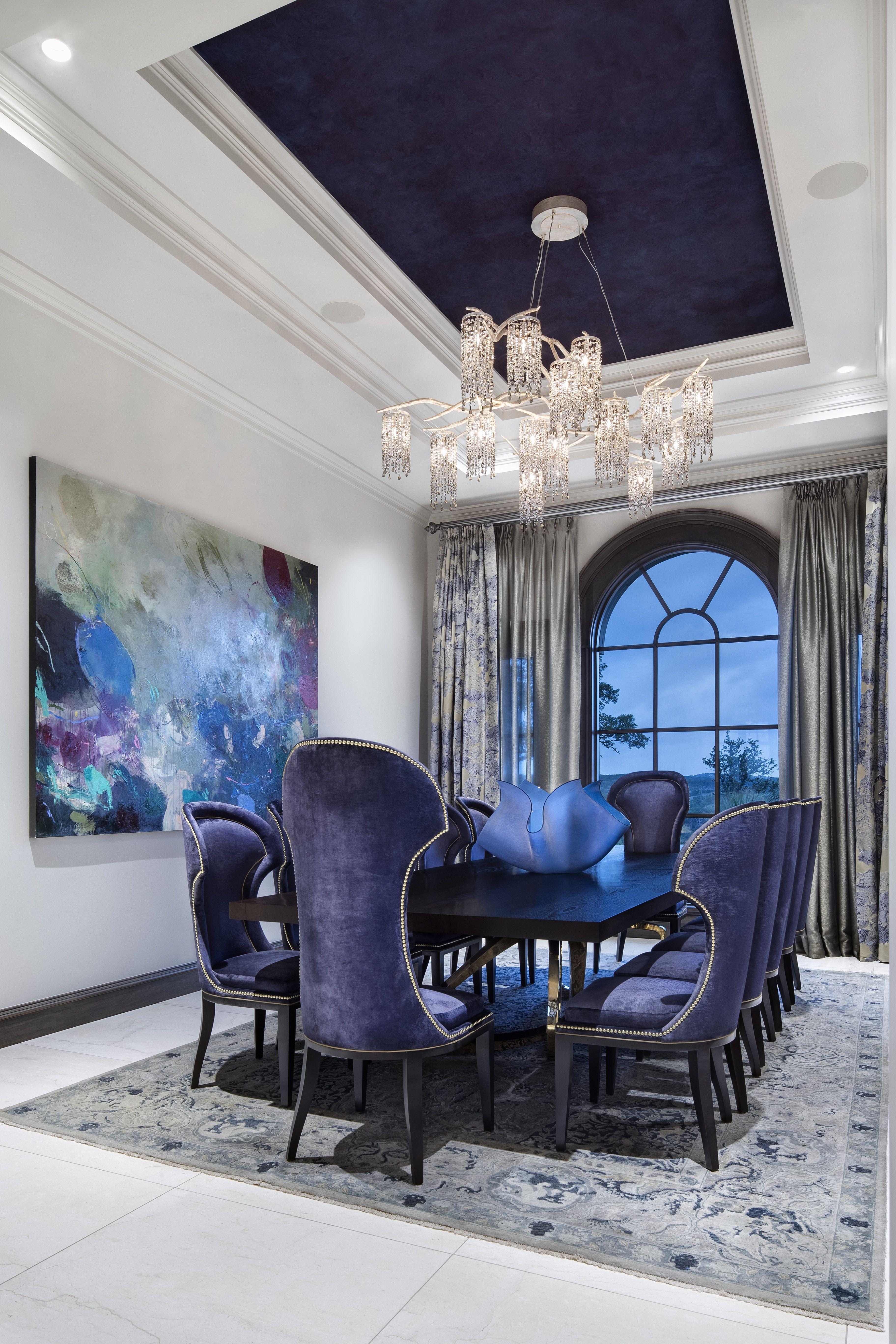 European Modern | Jauregui Architects | Luxury dining room ...