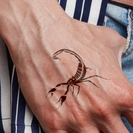Menace Tattoo - Semi-Permanent Tattoos by inkbox™