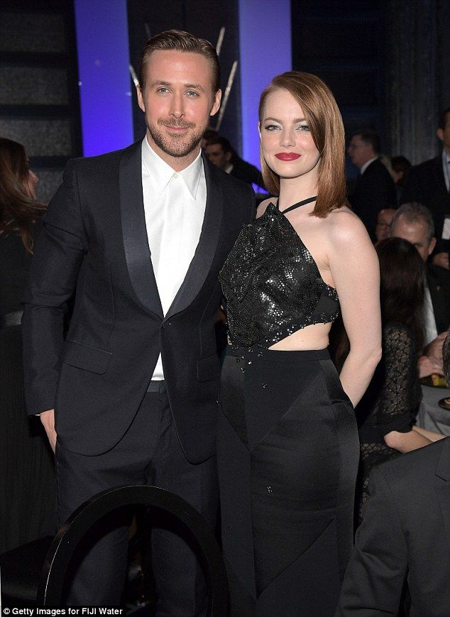 The stars were out in force at the Critics' Choice Awards in California on Sunday, where Emma Stone and Ryan Gosling's La La Land took home eight prizes.