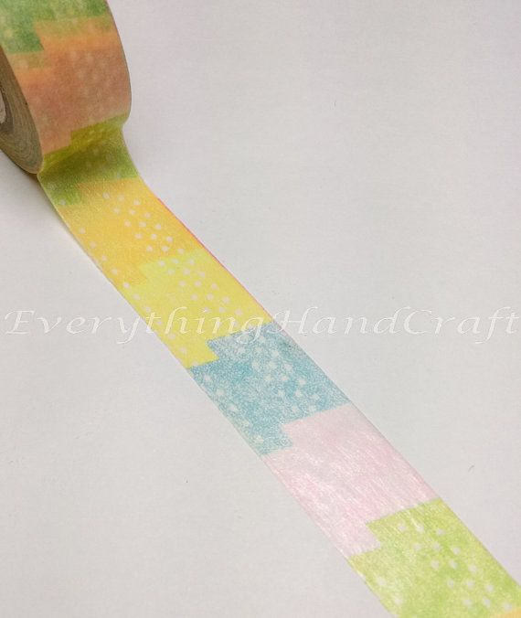 Washi Tape / Japan Sticky Adhesive Tape / by EverythingHandCraft