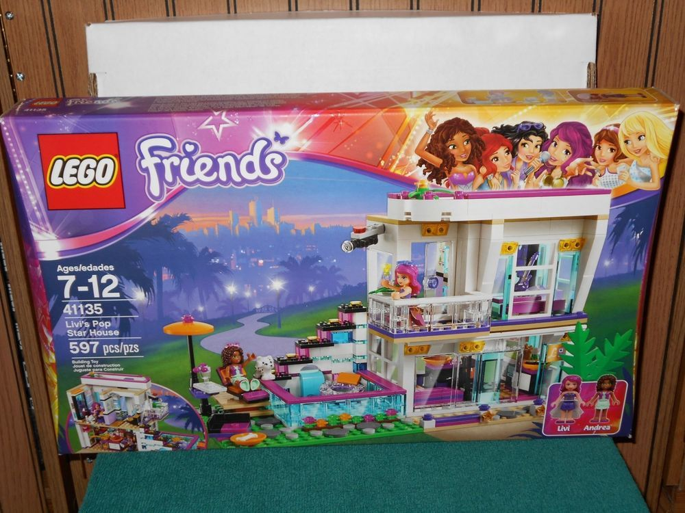 Lego Friends Livis Pop Star House 41135--NEW and SEALED ...