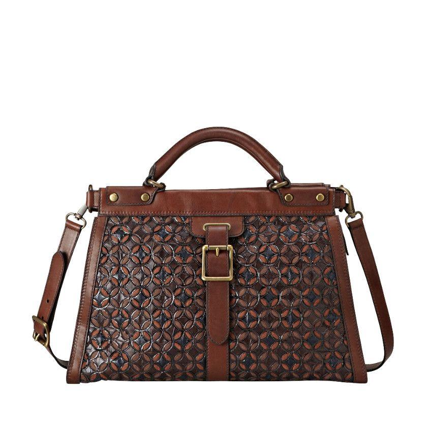 03fdd479f FOSSIL® Handbag Collections Vintage Revival:Women Vintage Revival Limited  Edition Satchel ZB4104