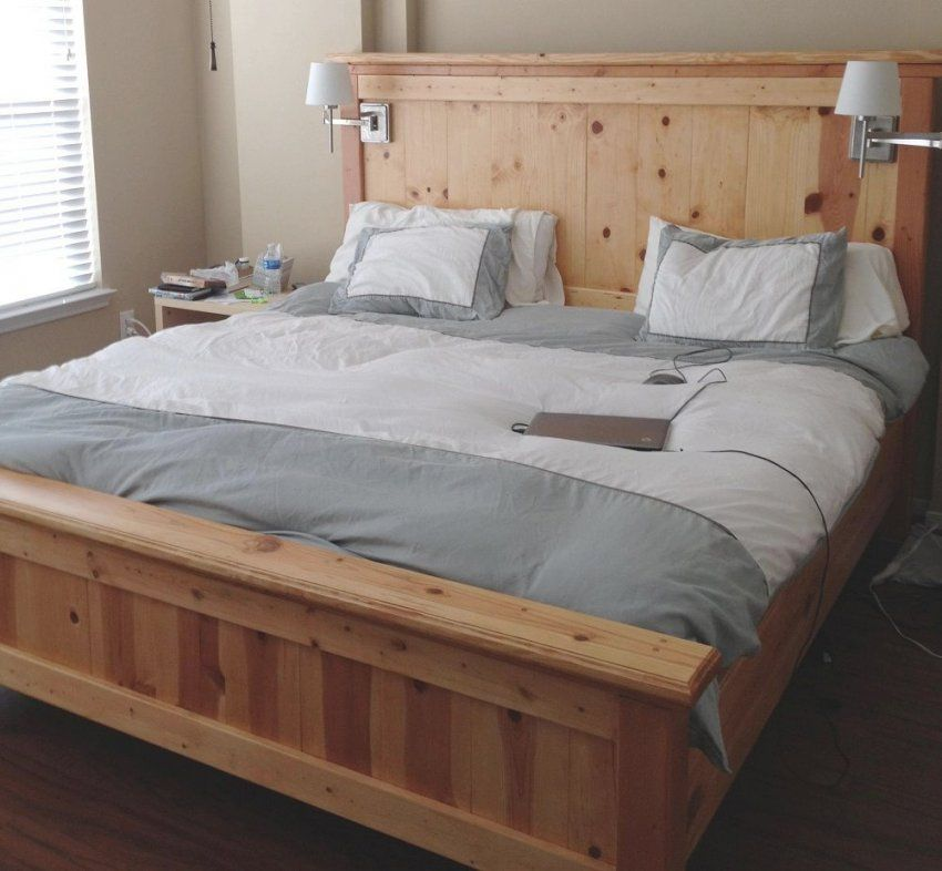 Comfortable Alaskan King Bed For Luxury Bedding Design With