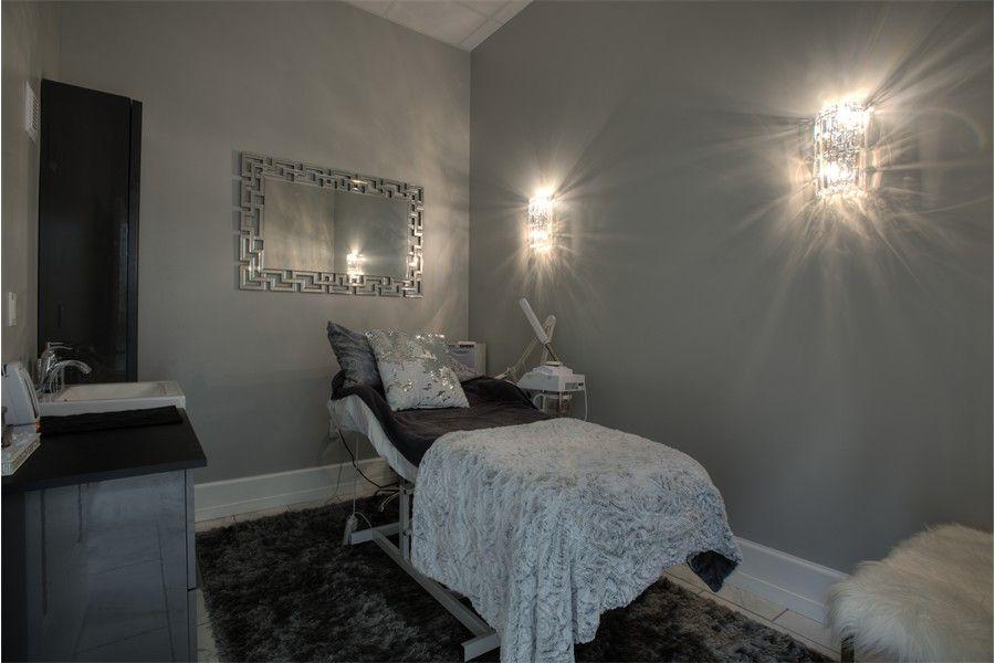 Luminous Spa Skin Care Room 2 By Salon Interiors Inc In 2020 Salon Interior Salon Decor Interior