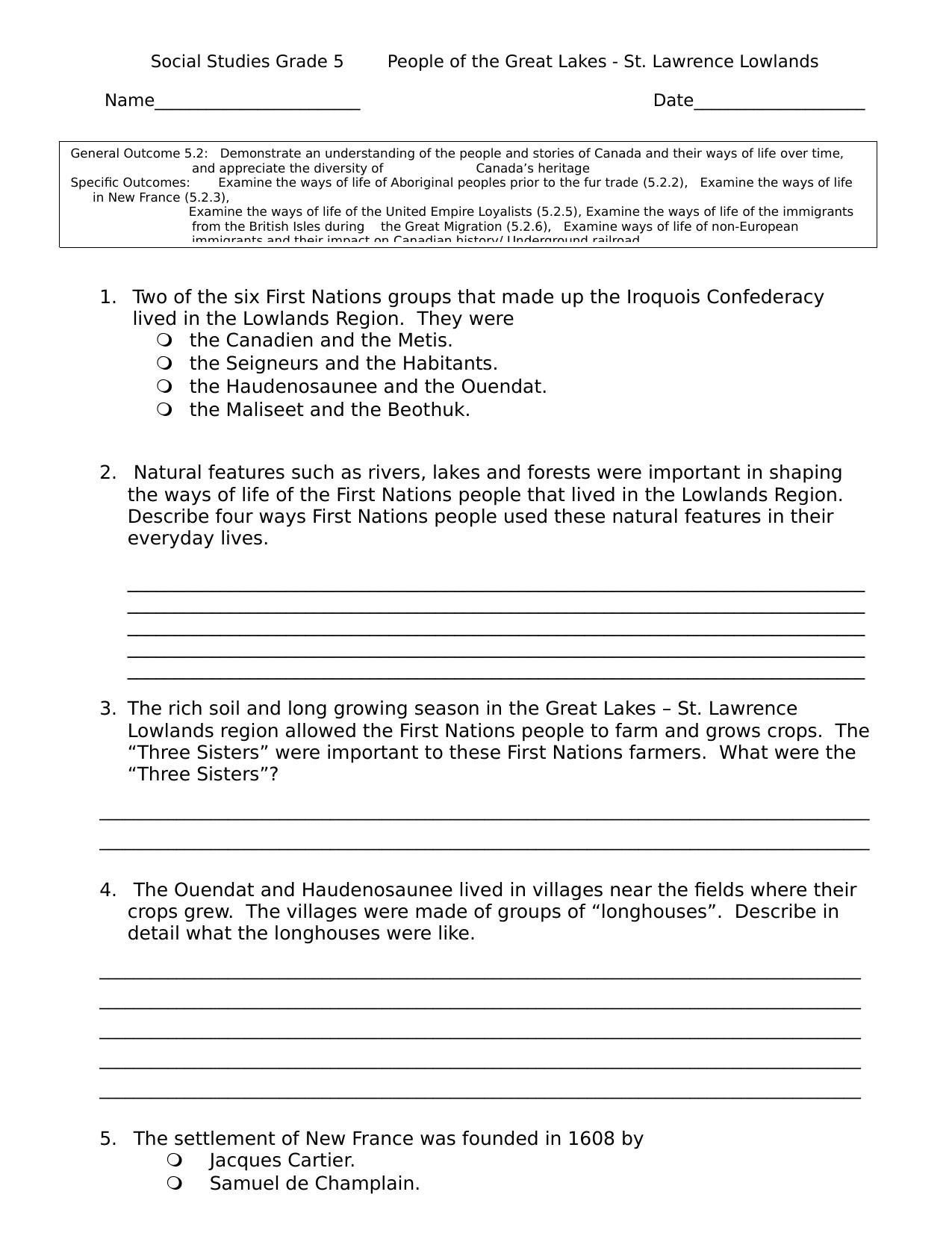 medium resolution of 30 Grade 5 Social Alberta ideas   how to plan