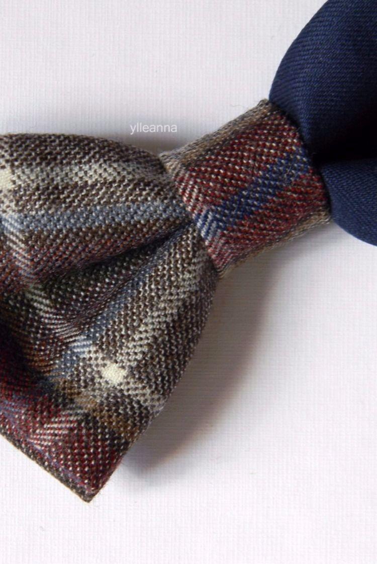 5c6d773baee9 Men bow tie - Plaid bowtie - Italian bowtie - Tartan bow tie - Pre tied bow  tie - Made in Italy - Blue, brown, olive green, burgundy.
