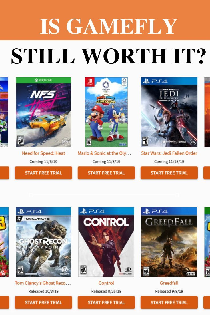 GameFly is a video game and movie rentals service that gives you access to thousands of titles for a monthly cost. It may sound neat, but is it worth it? We're going to explore the service's pros and cons and whether or not it's right for you.   via redplayergaming.com   #gamefly #games #videogames #gamerental #ad #affiliate #videogamesps4 #videogamesxbox #pcgames