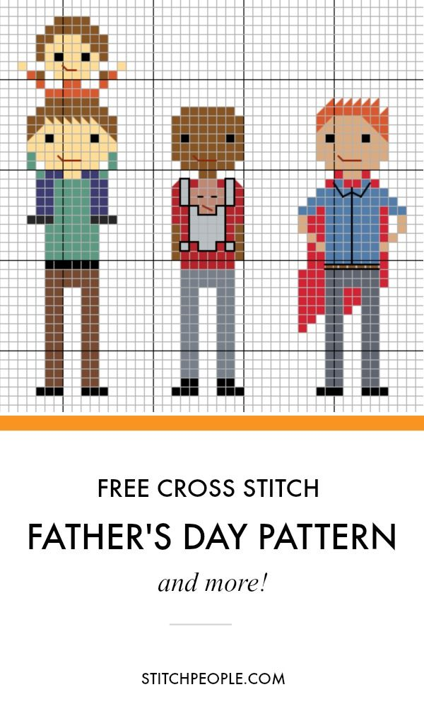 Free Father's Day Pattern #father