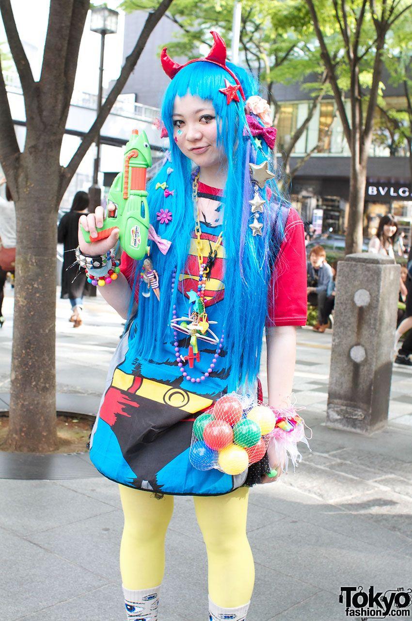 Super-Cute & Colorful Harajuku Street