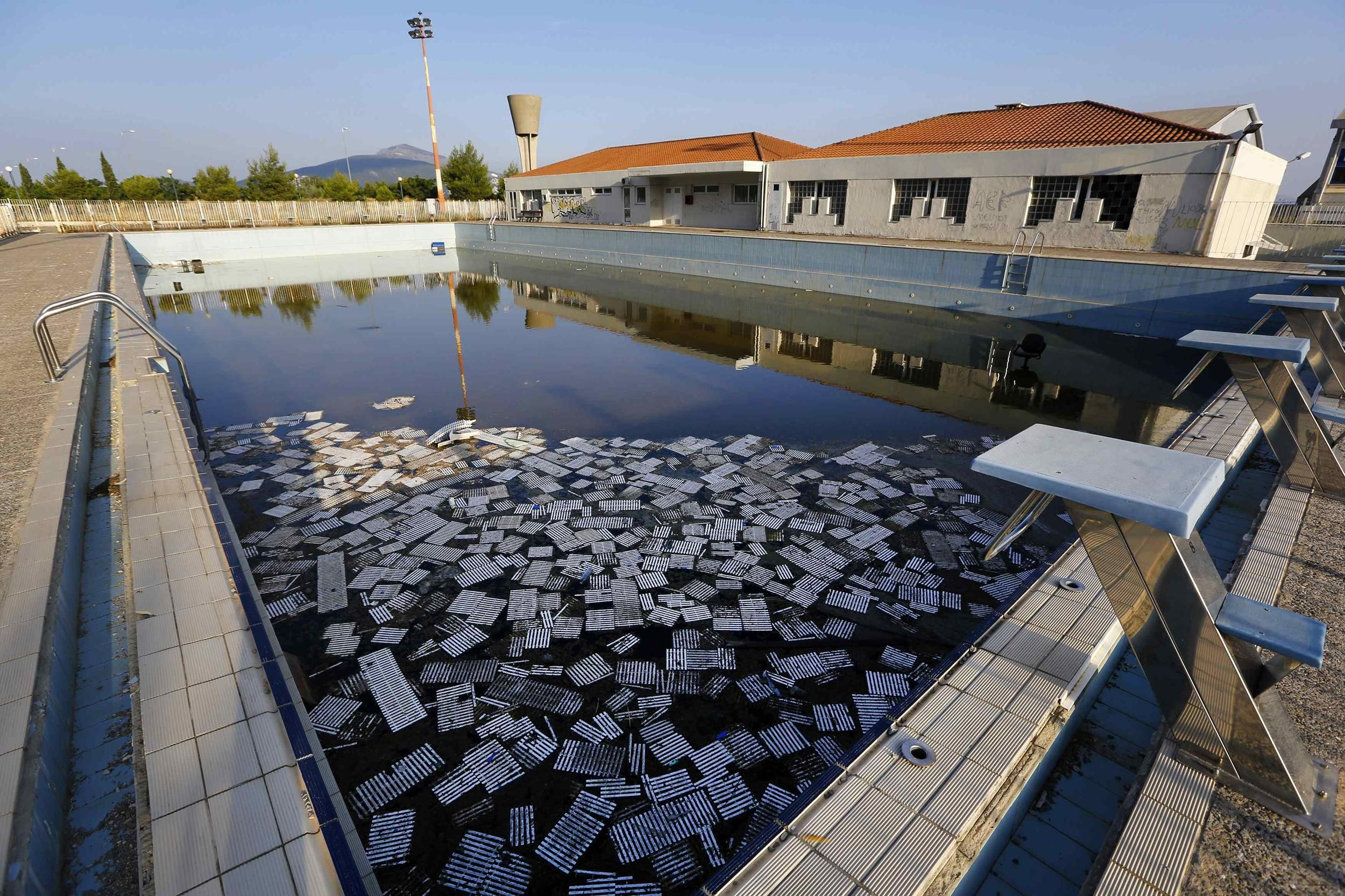 Ghostly Ruins Athens Olympic Venues Ten Years Later Olympic Venues Olympic Village Abandoned Places