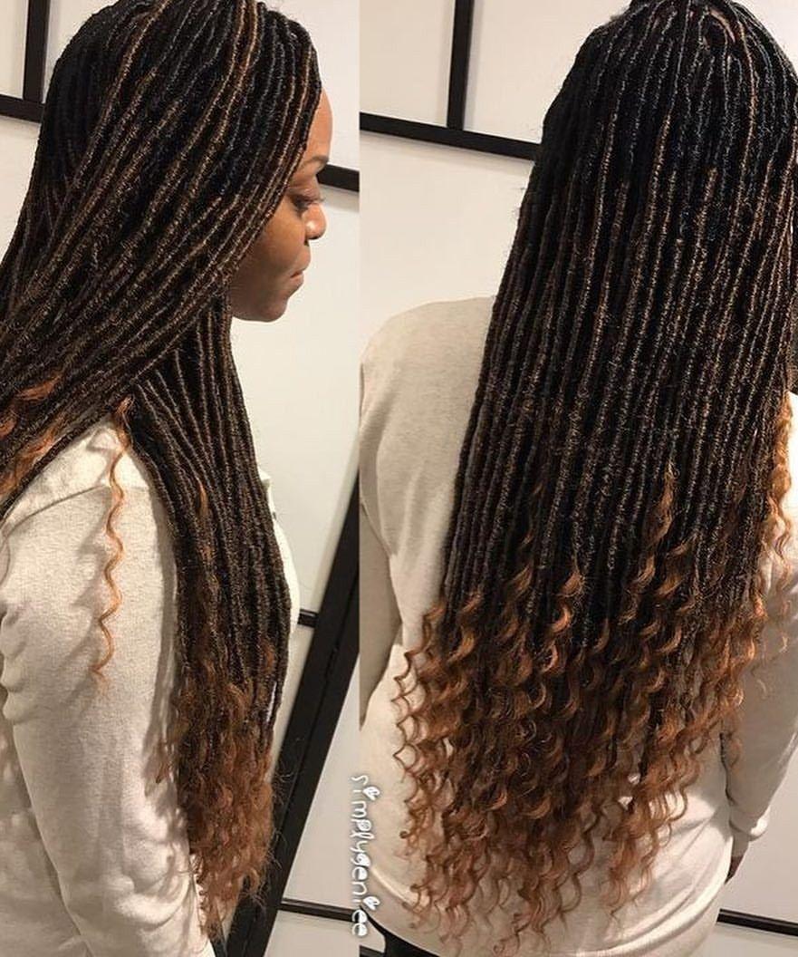 Pin By Mariah Conteh On Straight Weave Mc Box Braids Hairstyles Twist Braid Styles Faux Locs Hairstyles