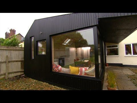 Building a low cost extension using farmhouse materials for Low cost house construction ideas