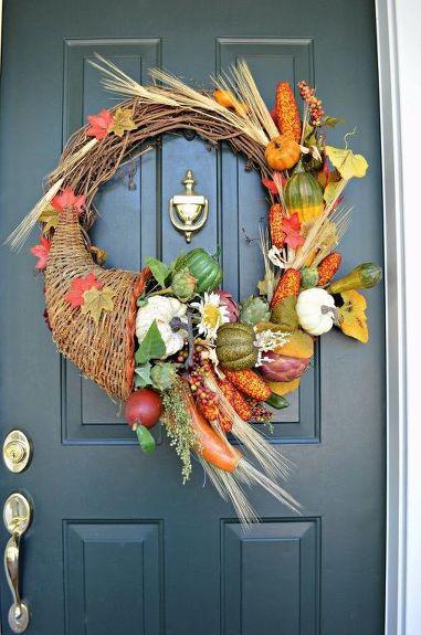 Photo of Make a Cornucopia Fall Wreath