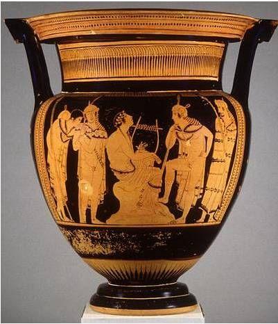 Orpheus Vase By The Orpheus Painter Ancient Greek Art Greek