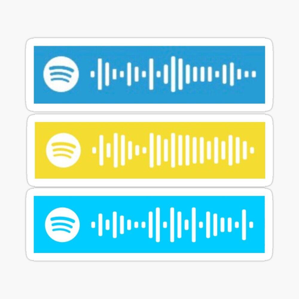 'Juice WRLD Spotify QR Scan Code sticker pack' Sticker by