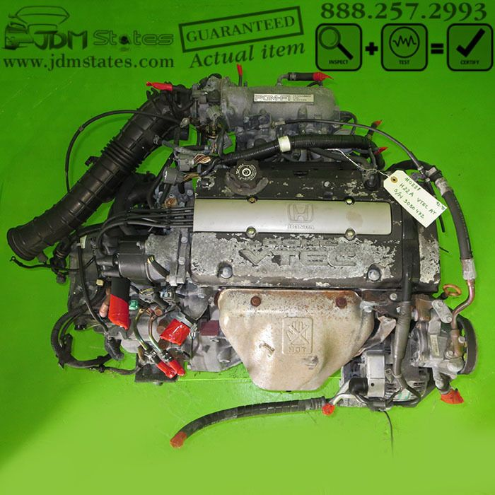 JDM HONDA ACCORD/PRELUDE H22A VTEC DOHC 2.2L Engine AT 92-95 ... on