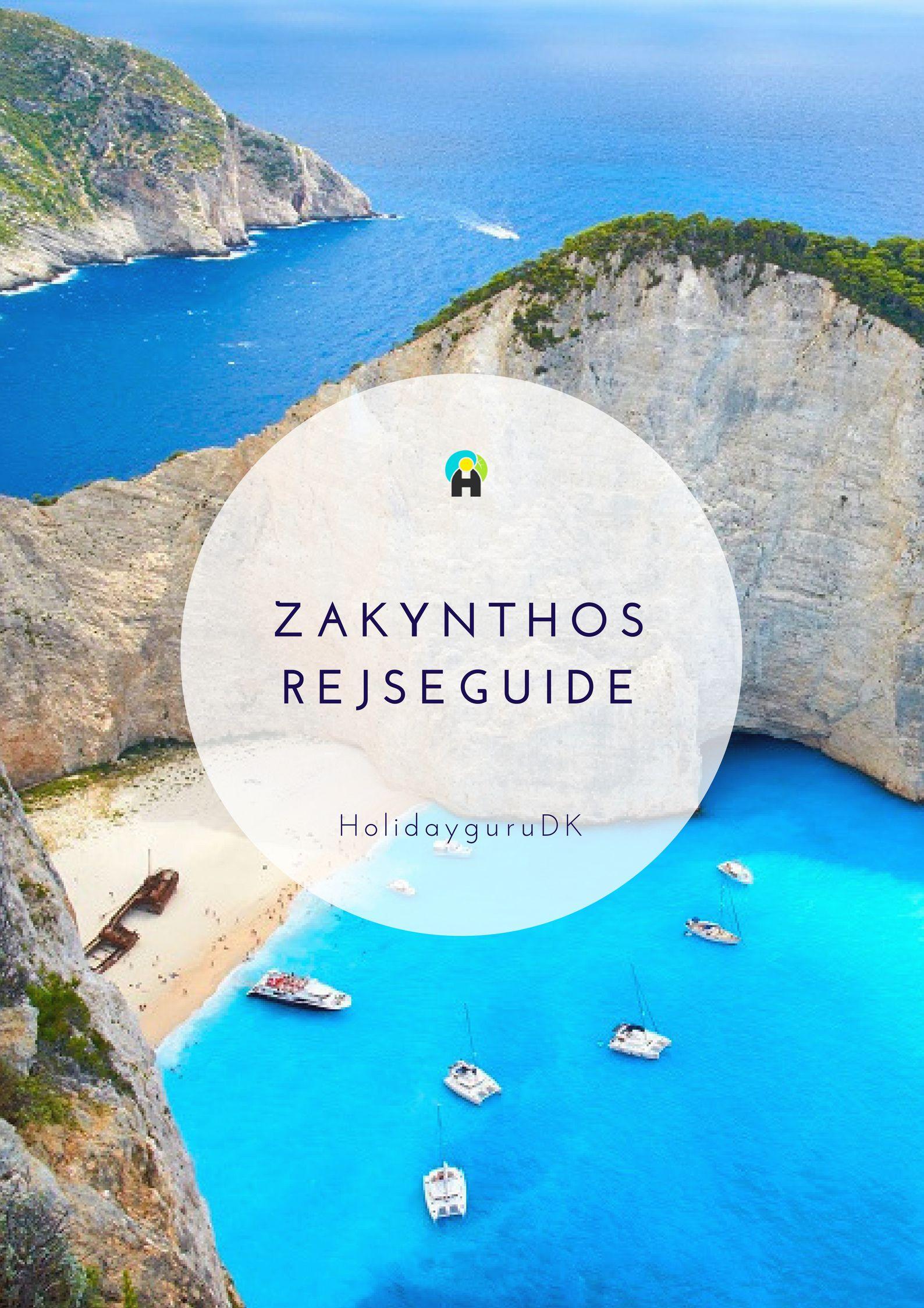 Rejseguide Til Zakynthos Oplev Havskildpadder Og Et Forlist
