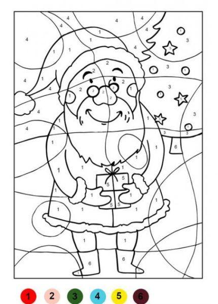 Img 5870 mozaik puzzle noel coloriage magique noel et coloriage noel - Puzzle dessin ...