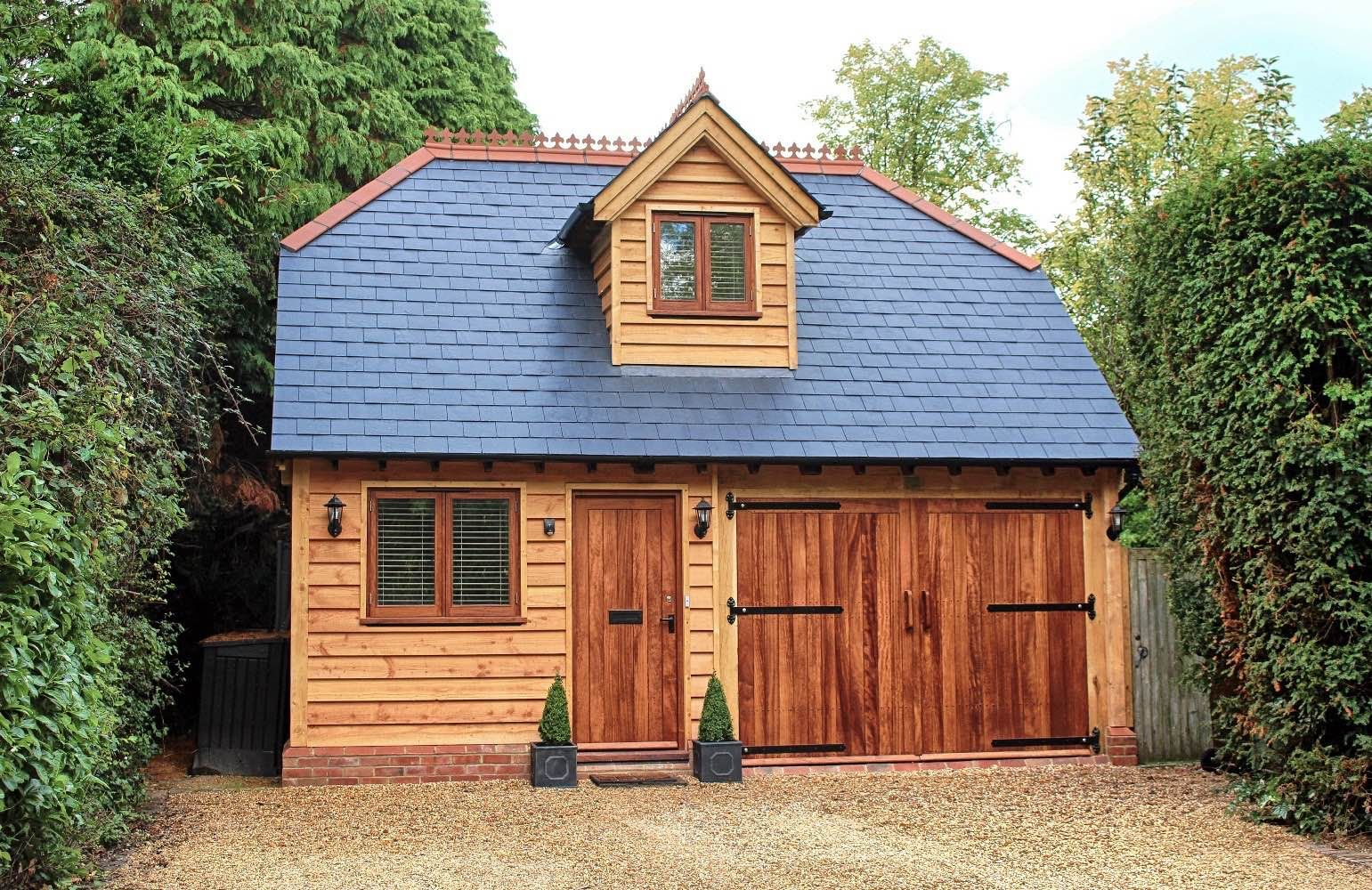Garages With Room Above Accommodation - Award Winning ...