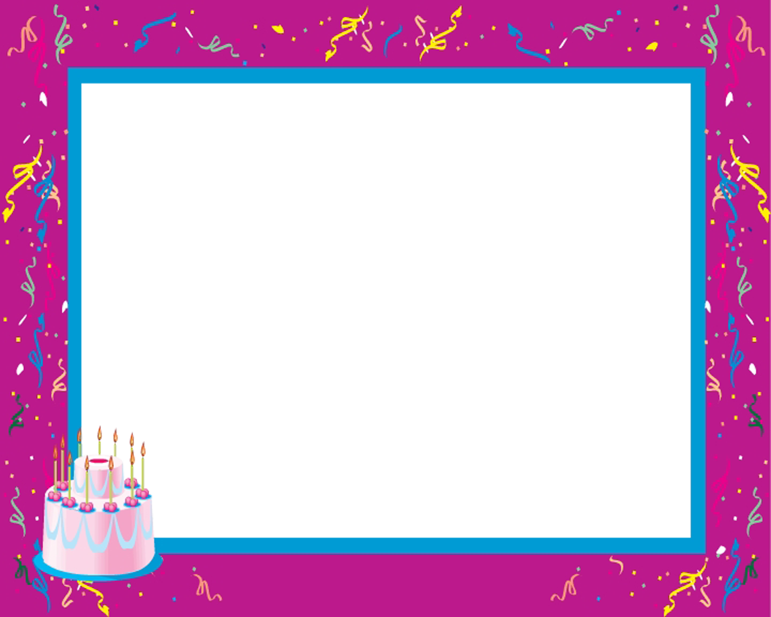 birthday png | Keepsake Pros :: Design Templates :: Frames :: Happy ...
