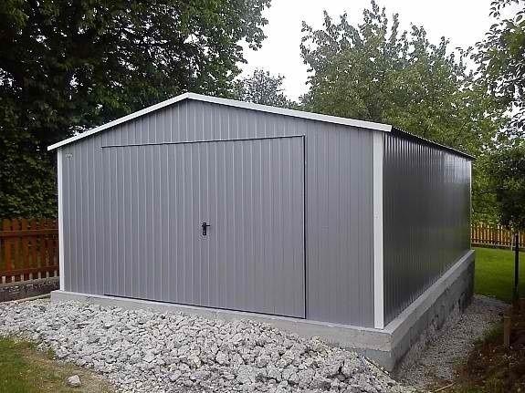 Fertiggarage beton roh  Blechgaragen , Lagerraum, Fertiggarage, Gartenhütte, Hobbyräume ...