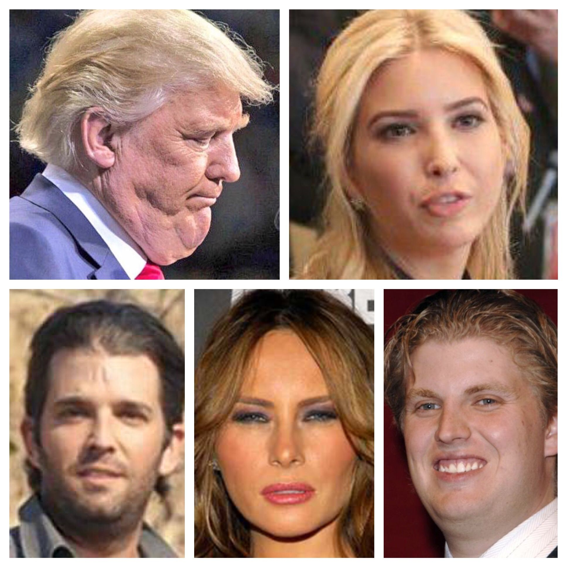 Can't wait until these grifters are out of the White House!! #TrumpleThinSkin #IvankaDerpFace #SquintyMailOrderBride #MyTwoGreaseballs  #resist #Impeach #Grifters #Traitors