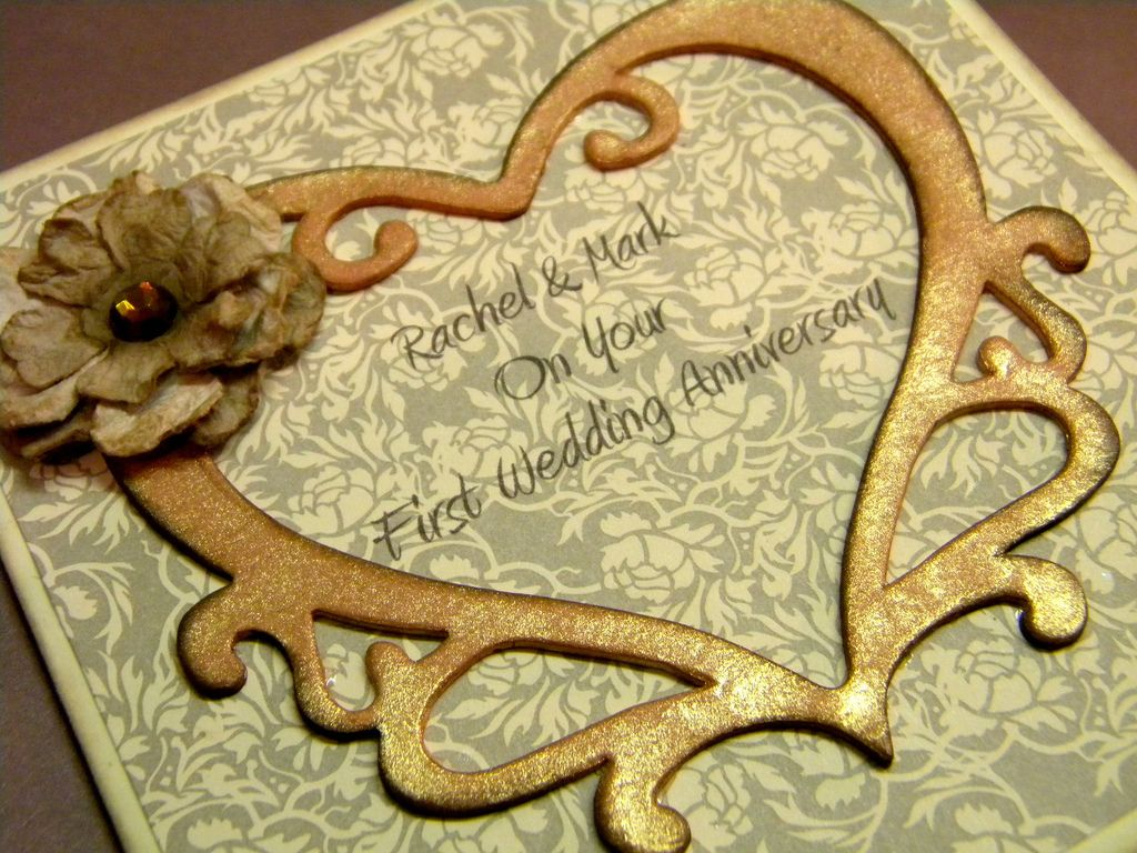 1st Anniversary Card Making Ideas Part - 35: Handmade Anniversary Card Ideas | ... Handmade Wedding Anniversary Cards  For Husband . View