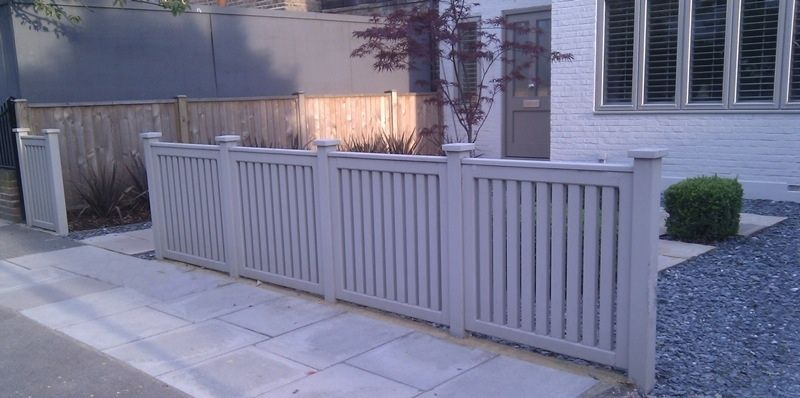 Pin By Adam Howard On Arbor Lodge Fencing Fence Design Patio