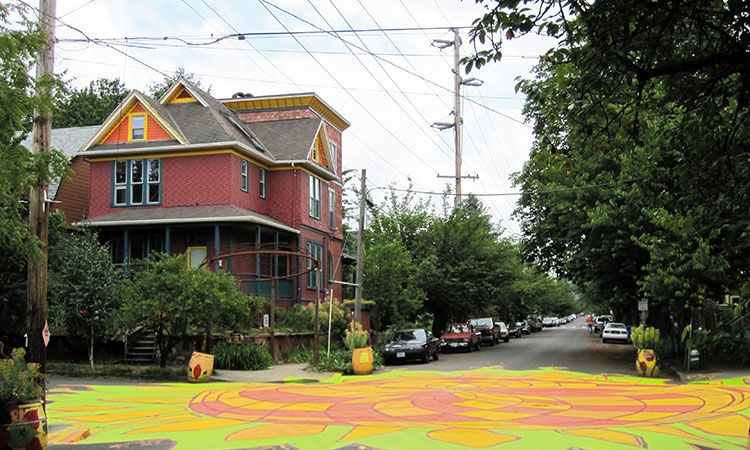 Intersection Repair to create safer streets in Portland