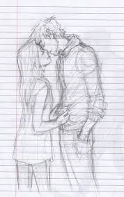 Image result for easy sketch of relationship | Cute couple ...