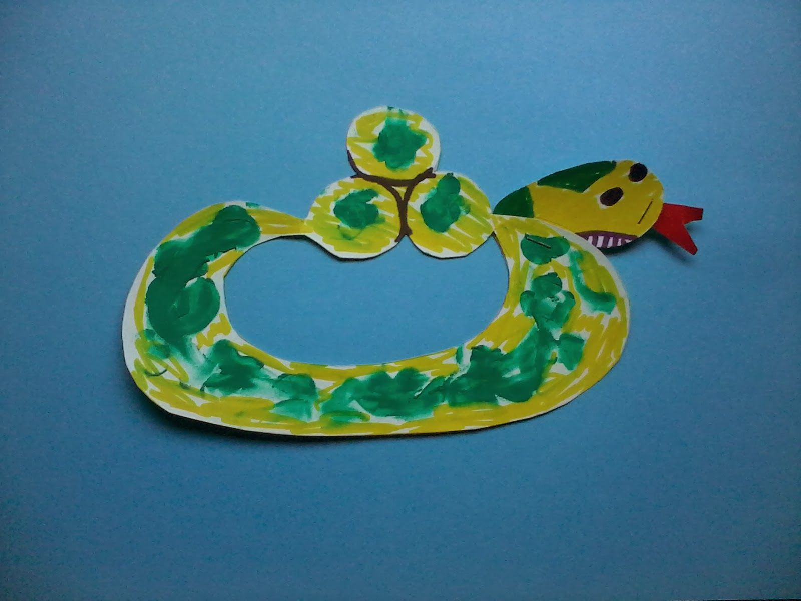 My Blooming Trilliums Arabic Alphabet Letter Craft Set 1