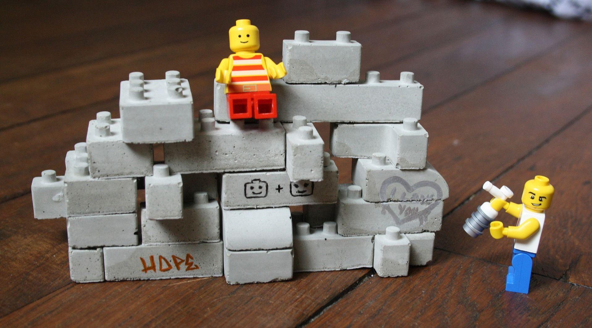 style classique de 2019 frais frais meilleure sélection de Construction Lego en béton