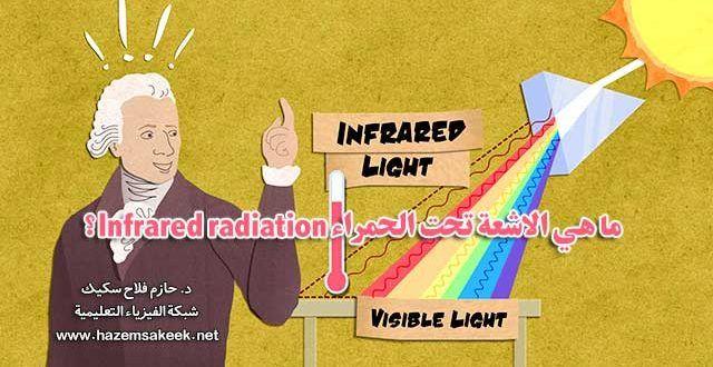 ما هي الاشعة تحت الحمراء Infrared Radiation شبكة الفيزياء التعليمية Visible Light Physics Light