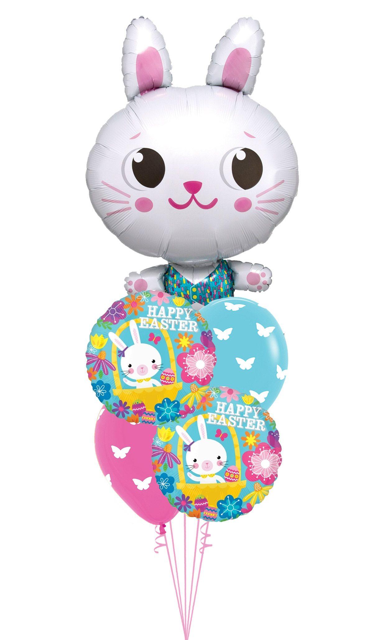 Bunny easter balloon bouquet wholesale balloons