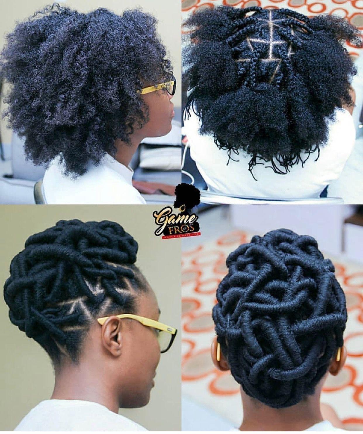 Pin By Cassandra Tidwell On Hair Braids Locs Twists Natural Hair Styles Natural Hair Braids African Braids Hairstyles