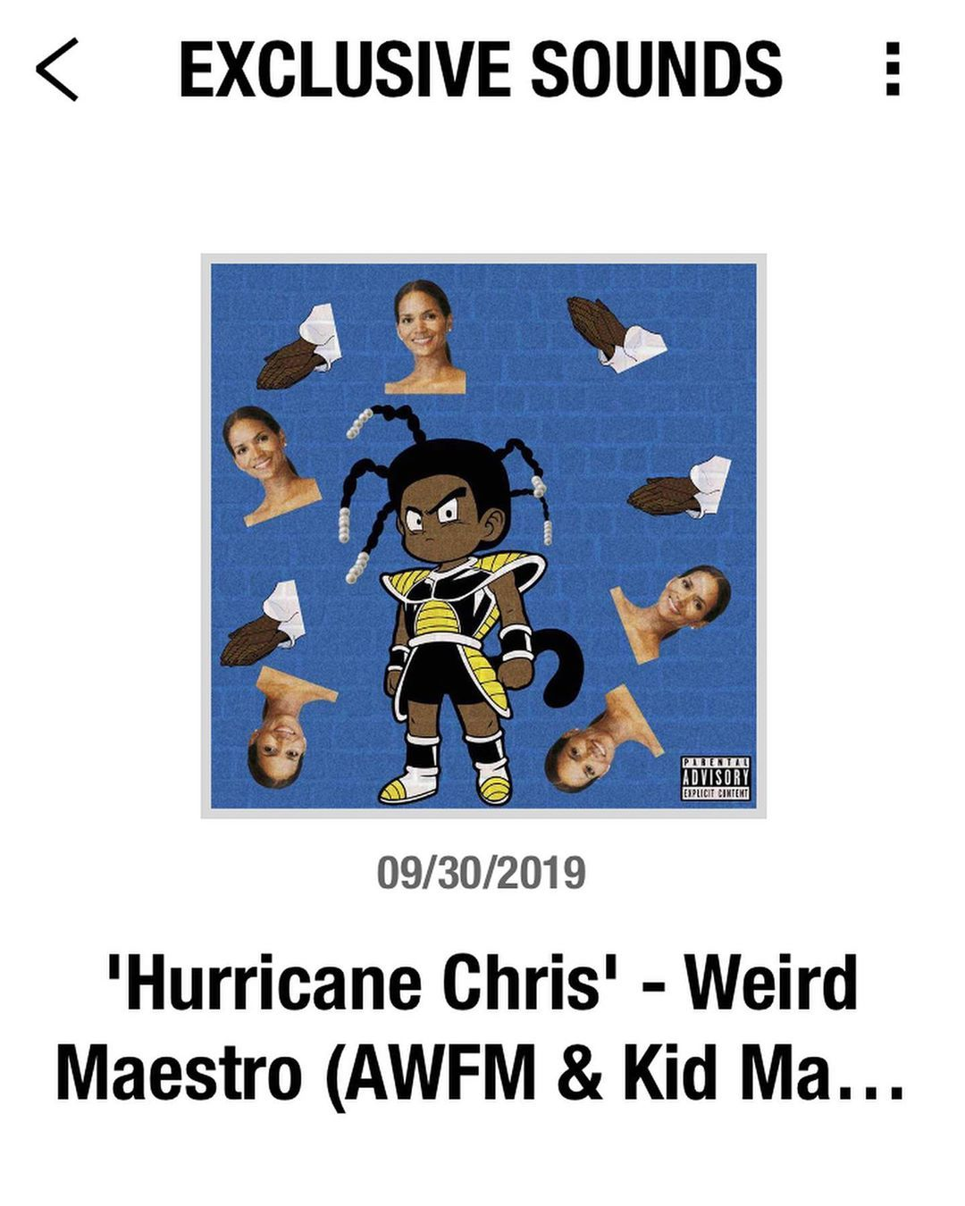 Hurricane Chris Is Now Available To Listen To On The Weareunapologetic World App Exclusive Sounds Section And Sound Cloud Rap Highsnobiety Instagram Posts