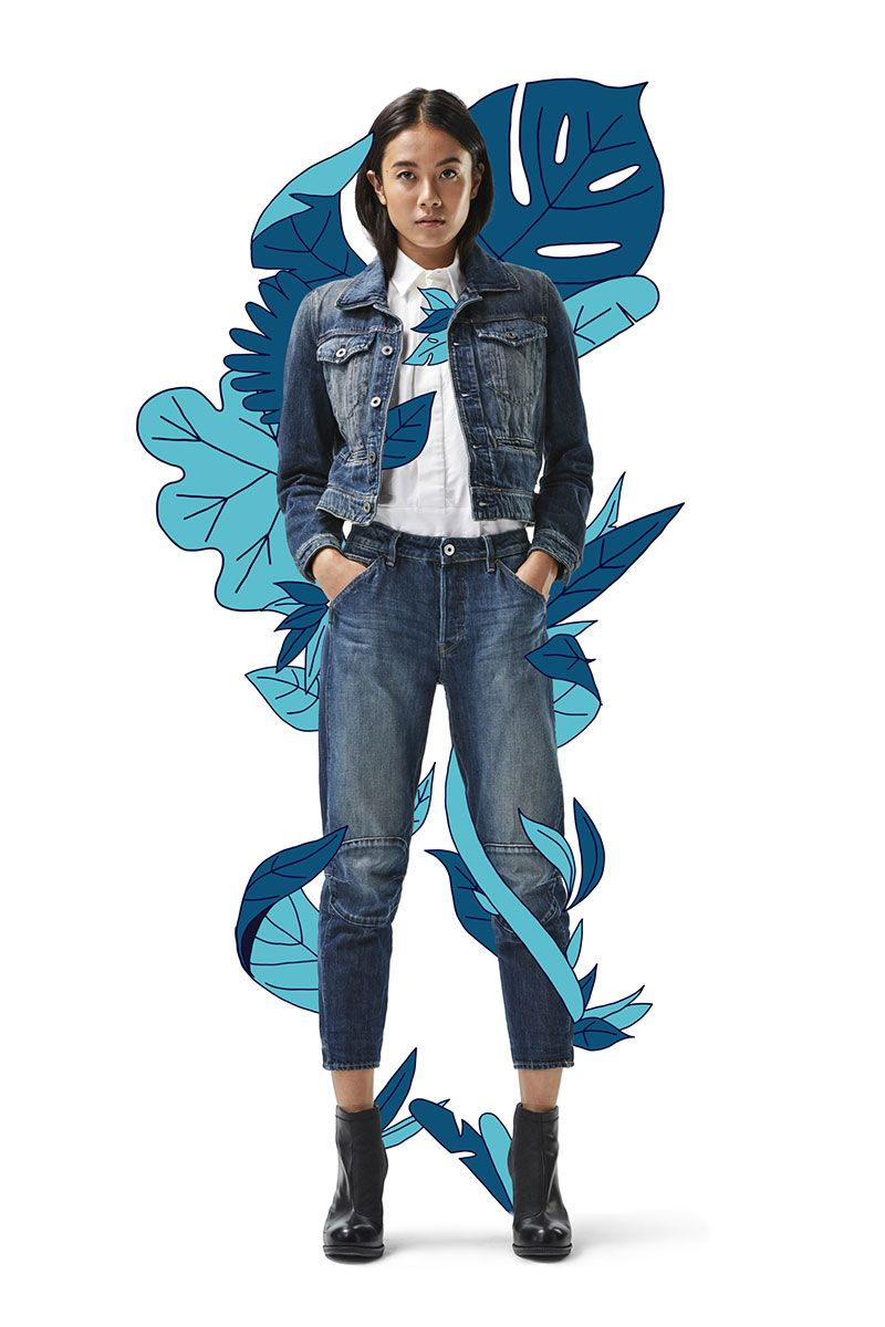 World Meet our most #sustainable pair of jeans and jacket