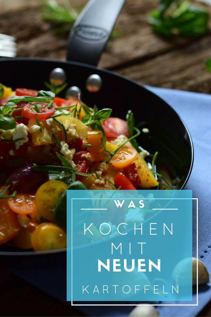 Super easy zuzubereiten: Ofengemüse mit neuen Kartoffeln, Feta und frischen Kräutern