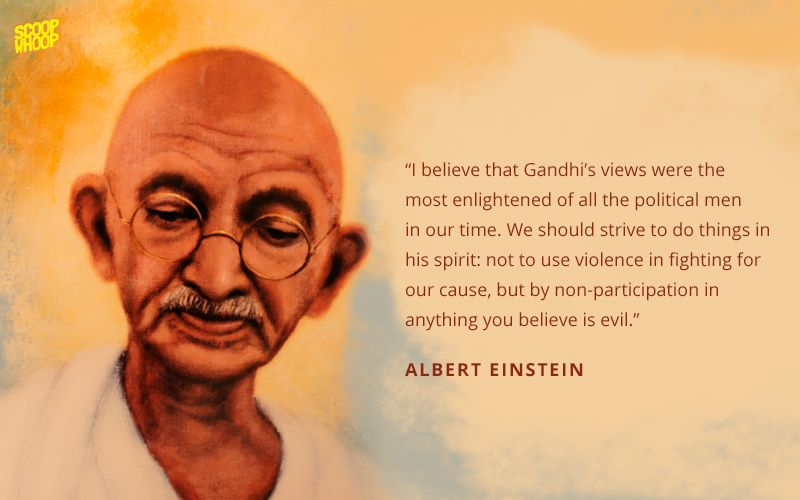 40 Quotes On Mahatma Gandhi By Some Of The World's Most Famous Men Gorgeous Most Famous Quotes