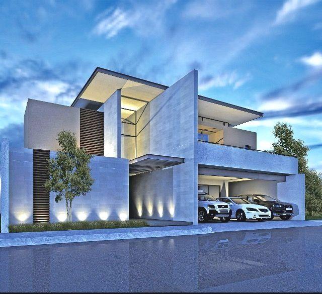 Casa grande de dos pisos una construcci n moderna y de - Casas arquitectura moderna ...