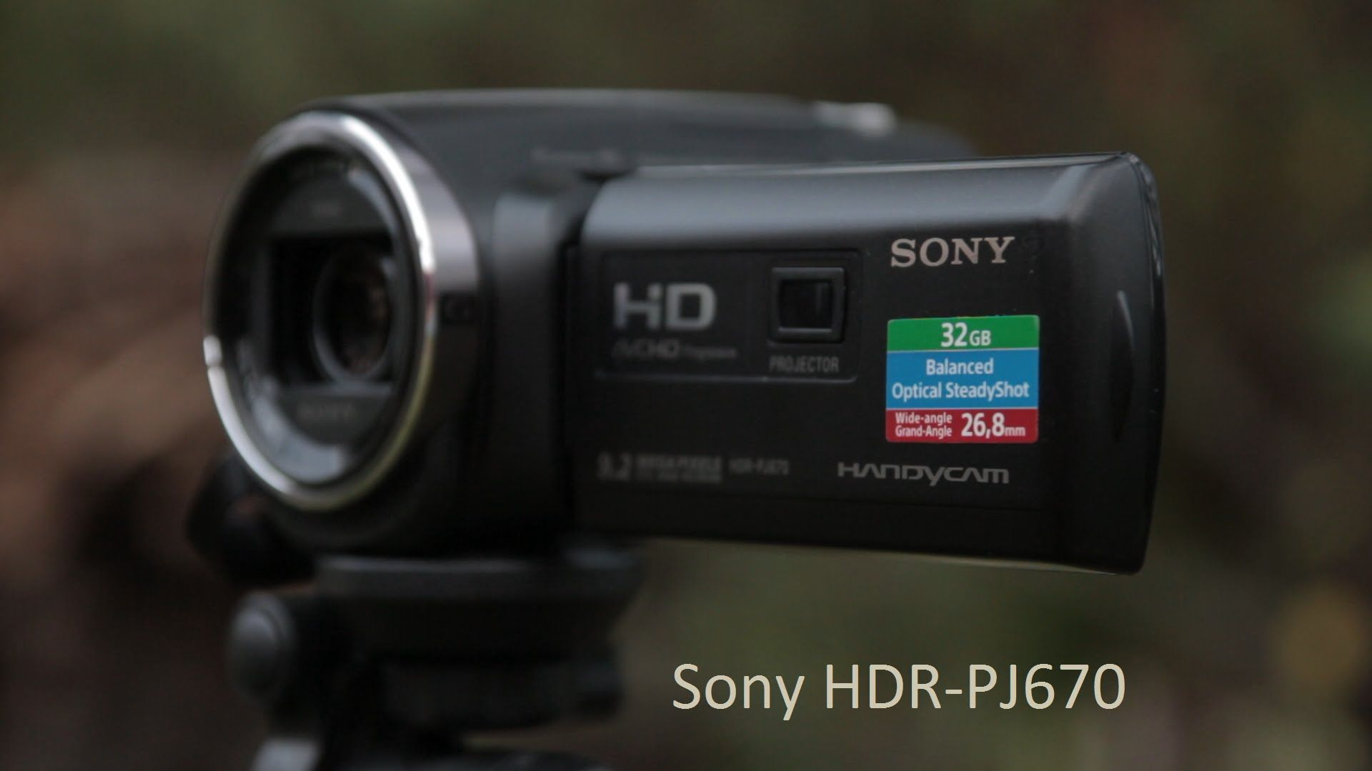 The Sony PJ670 is a camera from 2015 Sony consumer camcorder lineup It sports Balanced