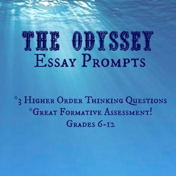 The odyssey essay topics
