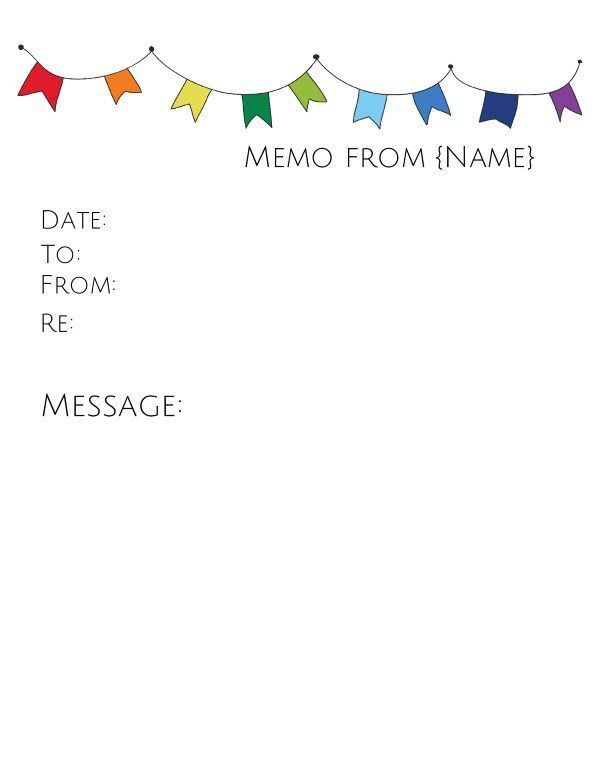 memo template with colored flags   cleverhippoorg/memo - blank memo template