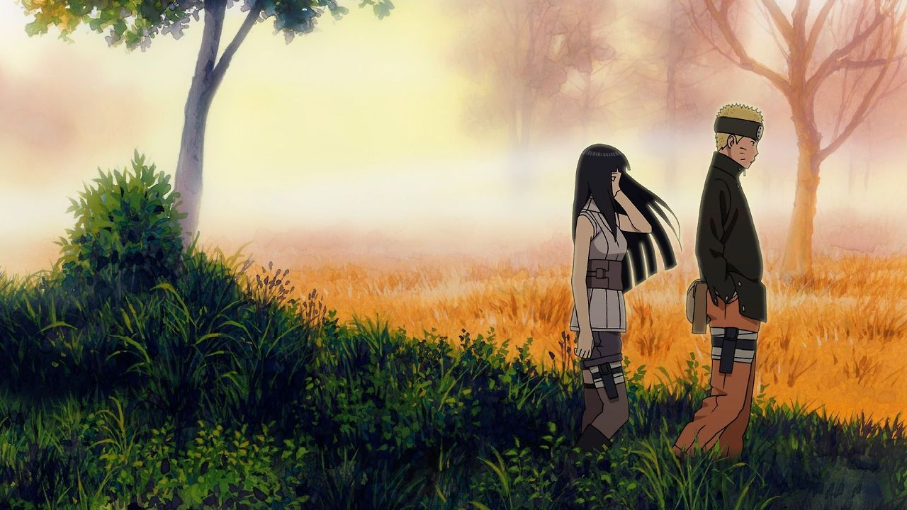 image for naruto and hinata married hd wallpaper the last