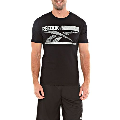 Sweat in style in this Reebok screen tee from #Gordmans ! #Fitness #GymLife #Gains