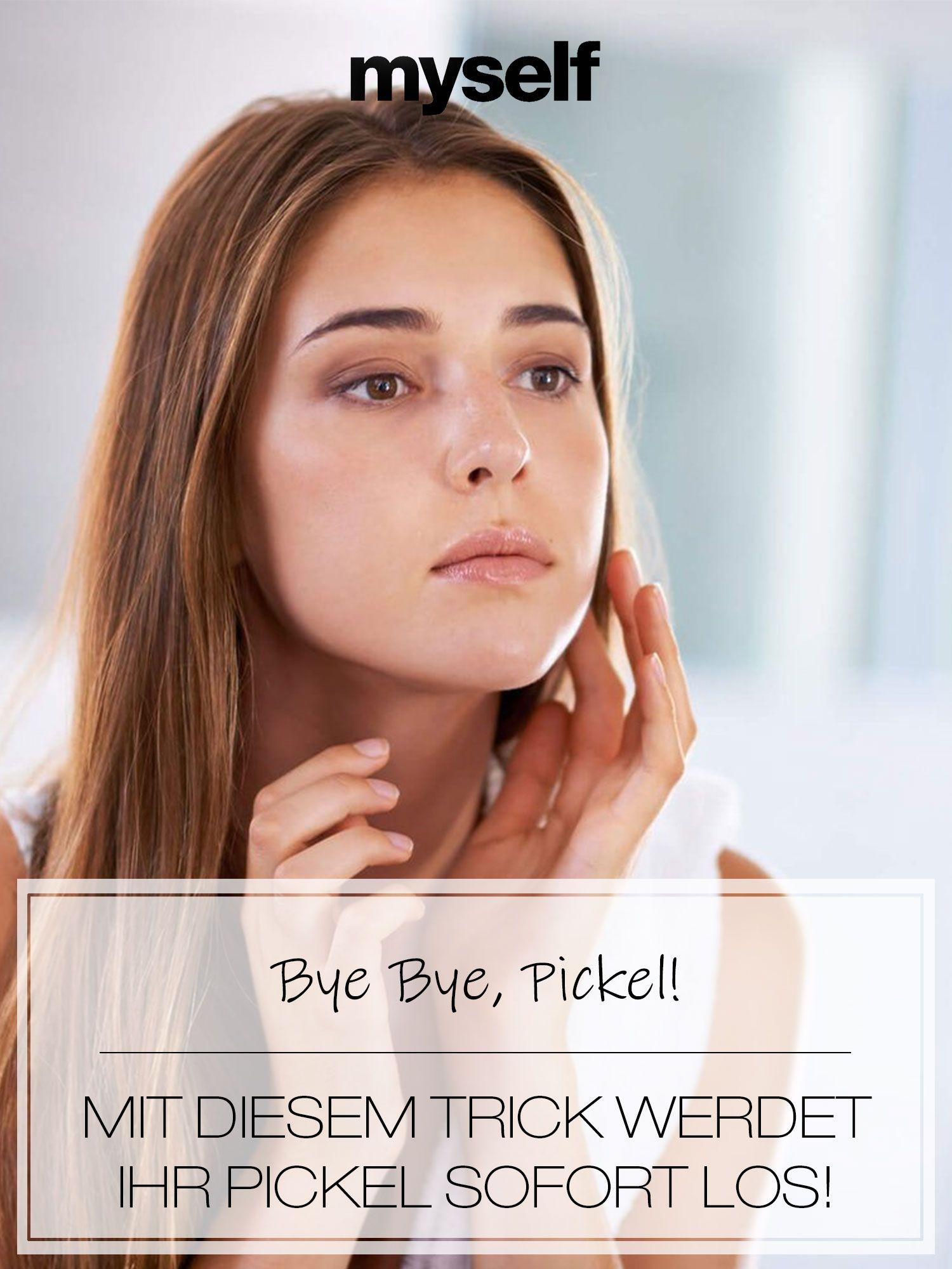 Pickel loswerden: Tipps bei unreiner Haut | Unreine haut