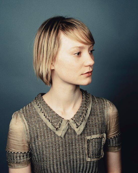 simple | People | Mia wasikowska, Fashion, Bob hairstyles