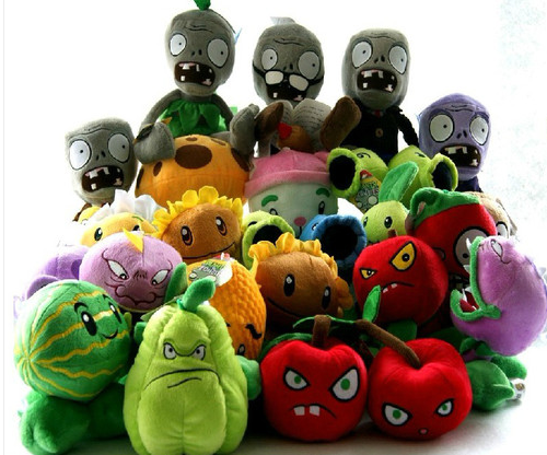 Plants vs Zombies plush toys Boy birthday parties