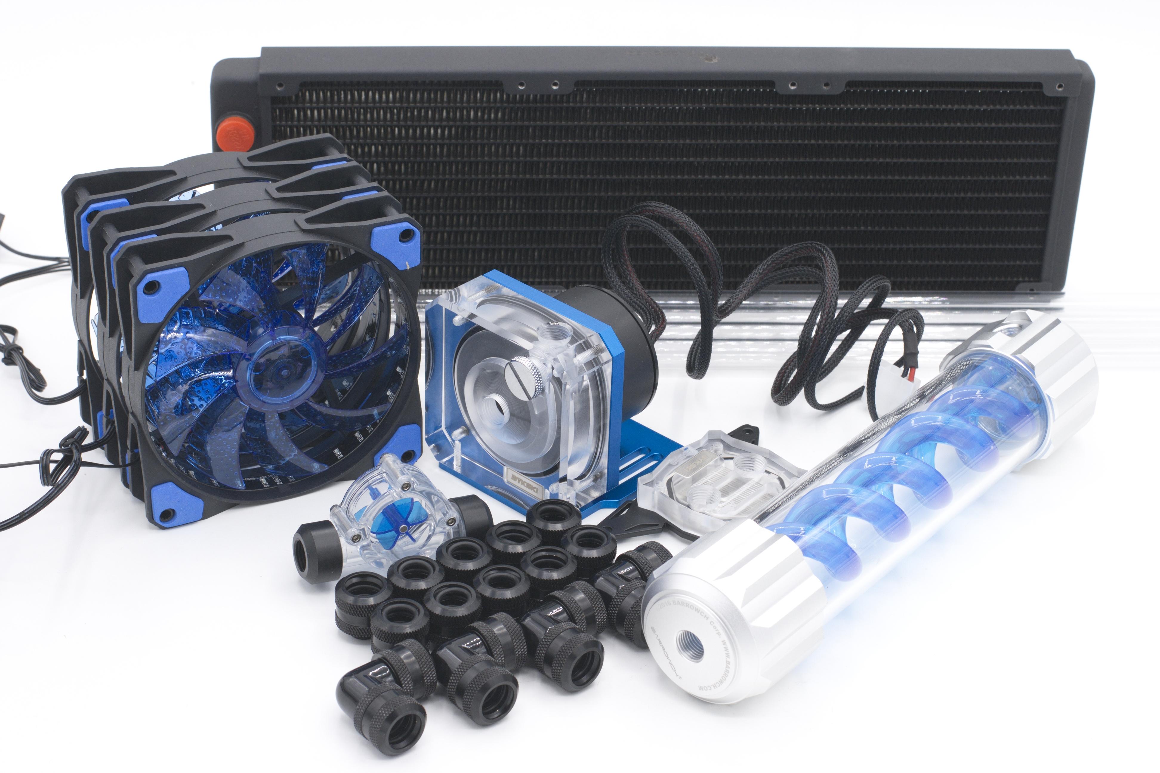 199 Watch Now Bykski Water Cooling Kit For Cpu Rigid Tube Intel