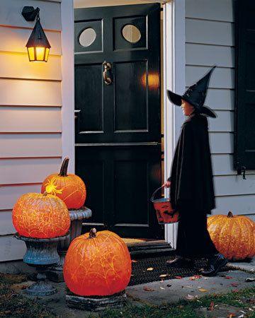 Trick or treat Halloween Pinterest Samhain, Vintage halloween - fun halloween decorating ideas